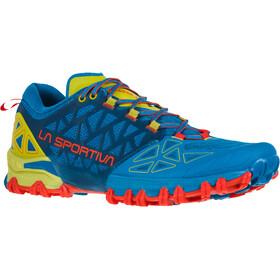 La Sportiva Bushido II Running Shoes Herr neptune/kiwi
